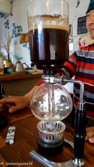 Very aromatic coffee