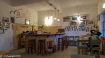 The cafe / dining area