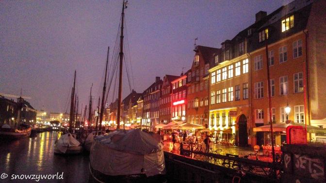 It's raining in Copenhagen