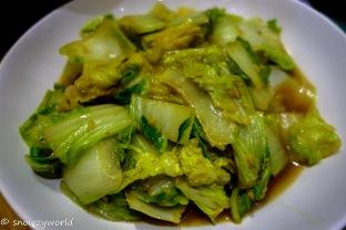 Stir-fry lettuce
